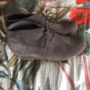 Franco Sarto grey suede booties!
